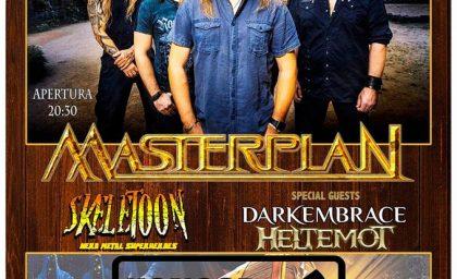 MASTERPLAN + SKELETON + DARKEMBRACE + HELTEMOT