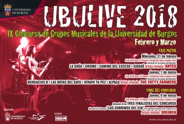 UBULIVE 2018 – IX CONCURSO
